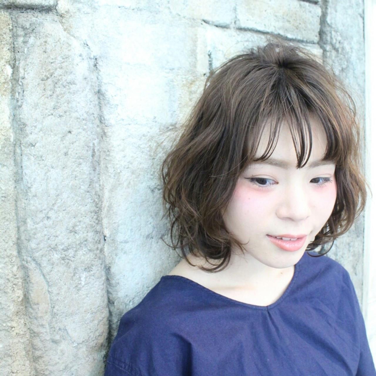 人気のシースールバングってどんな髪型? Chika Ueyama