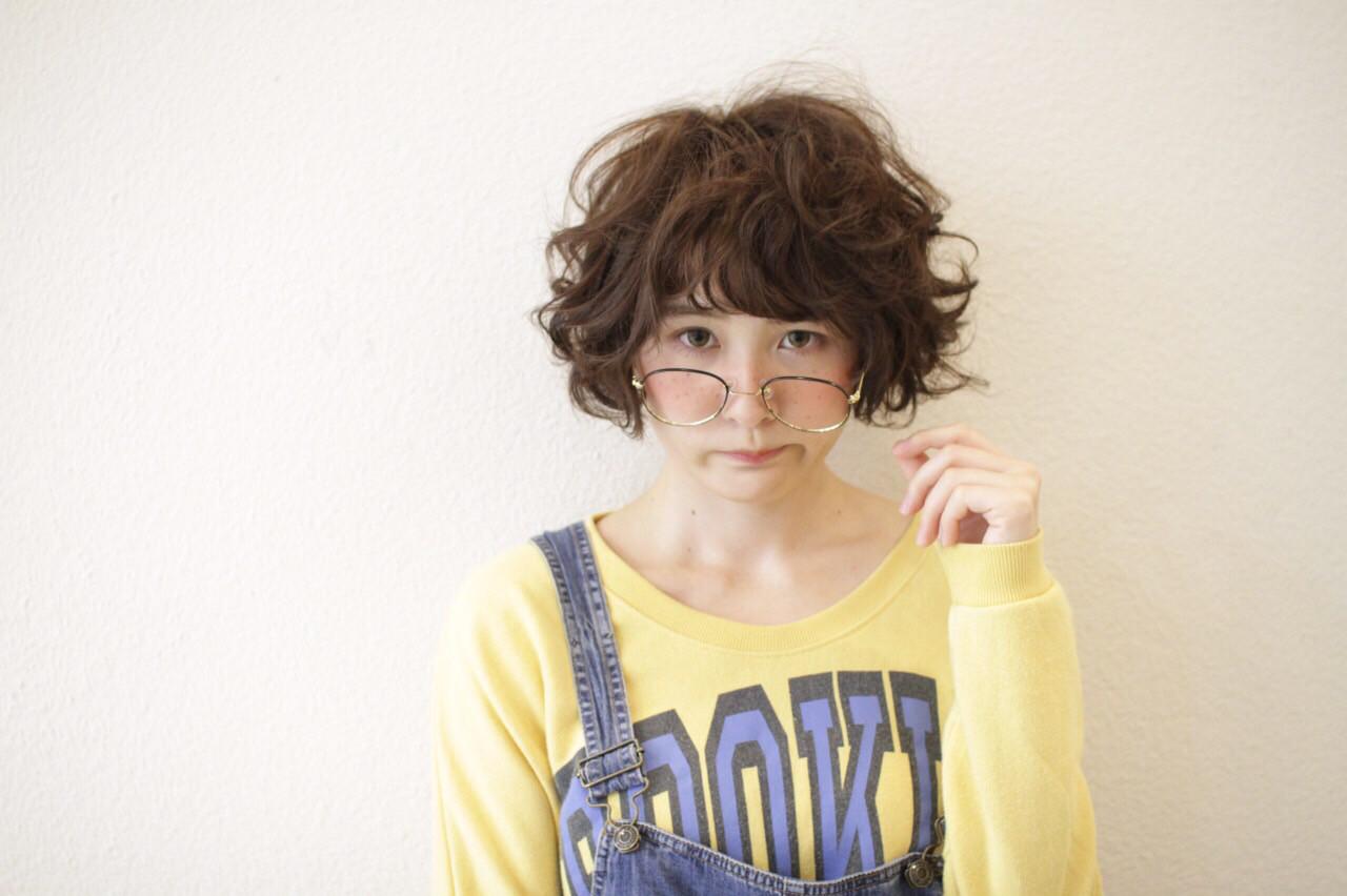 子供 ショート ストリート 外国人風 ヘアスタイルや髪型の写真・画像