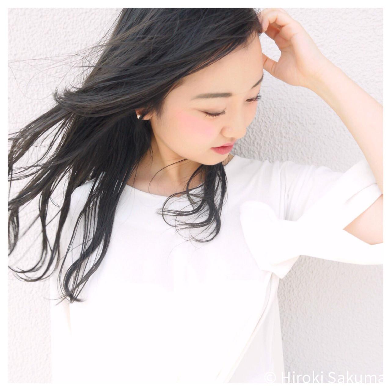 かきあげバングでセクシーな雰囲気を漂わせて Hiroki Sakuma【morio原宿】