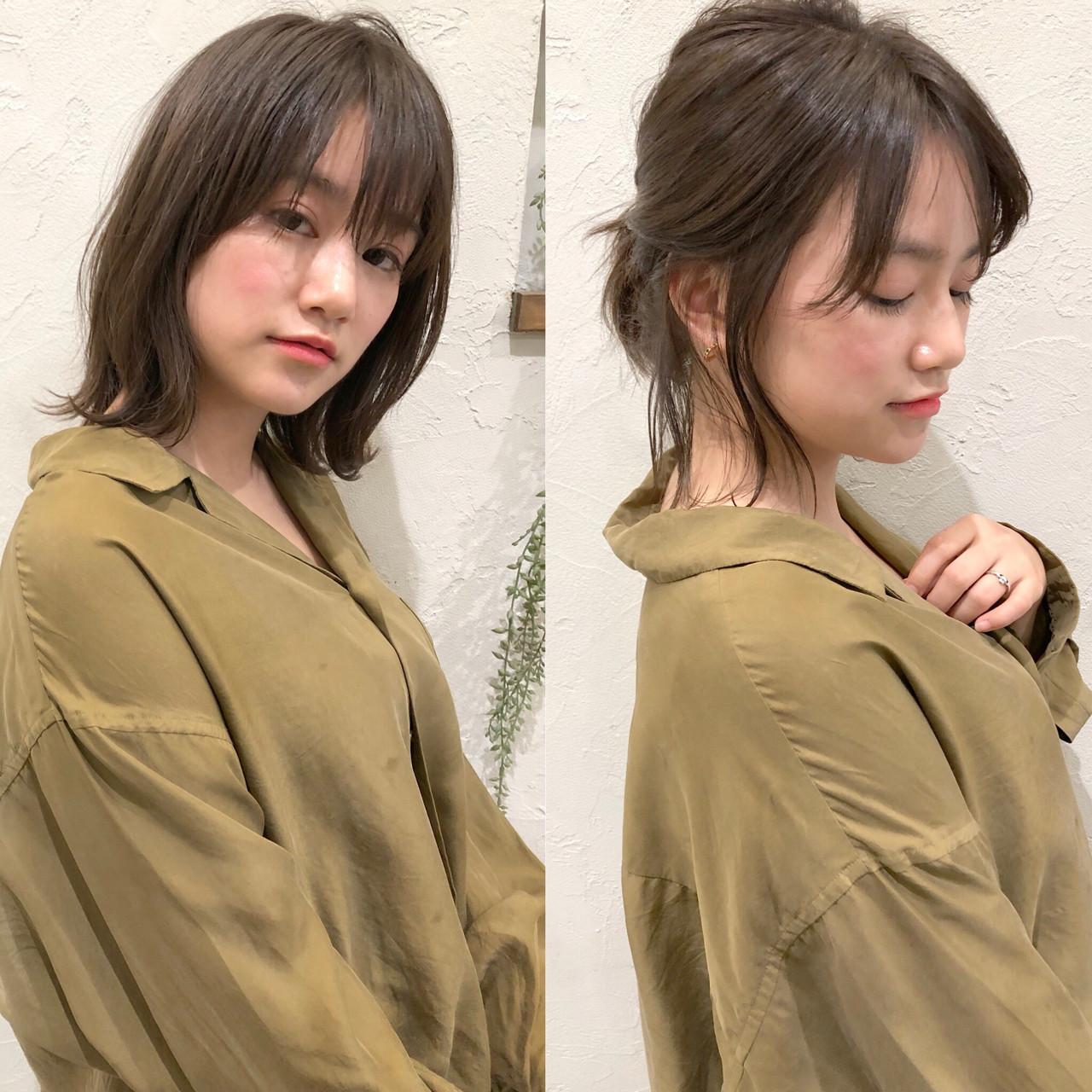 きれいめ♪後ろでまとめ髪アレンジ ナガヤ アキラ joemi 新宿