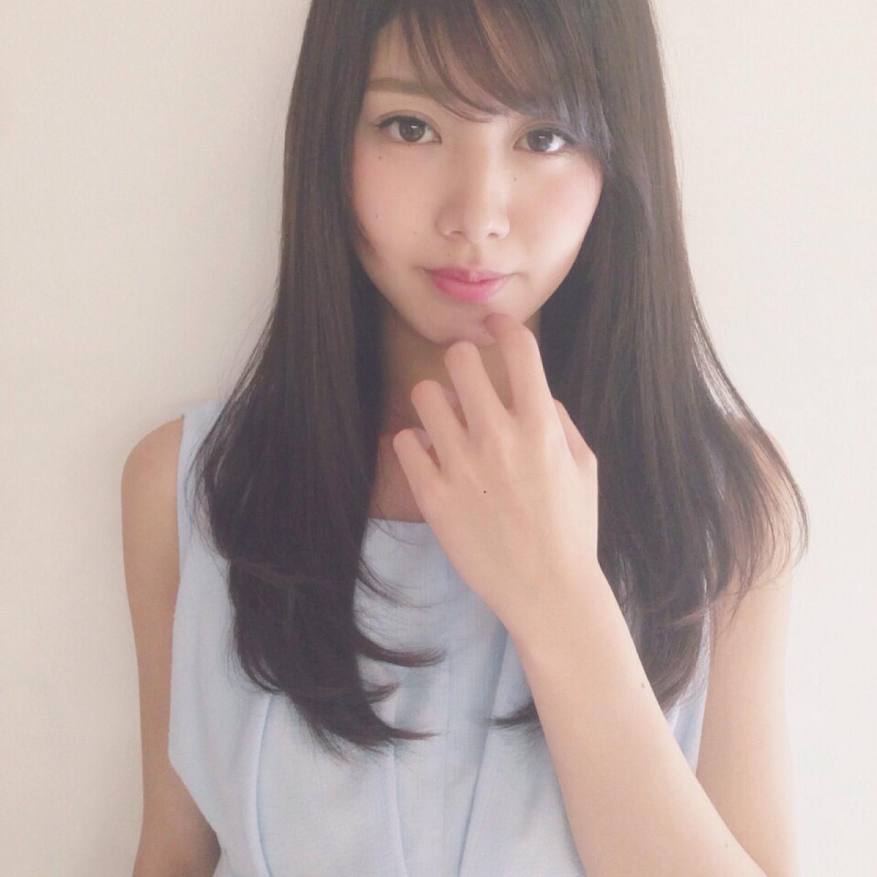 ヘアブラシ編♡ストレートヘアブラシを有効活用! 瀬戸島 容子