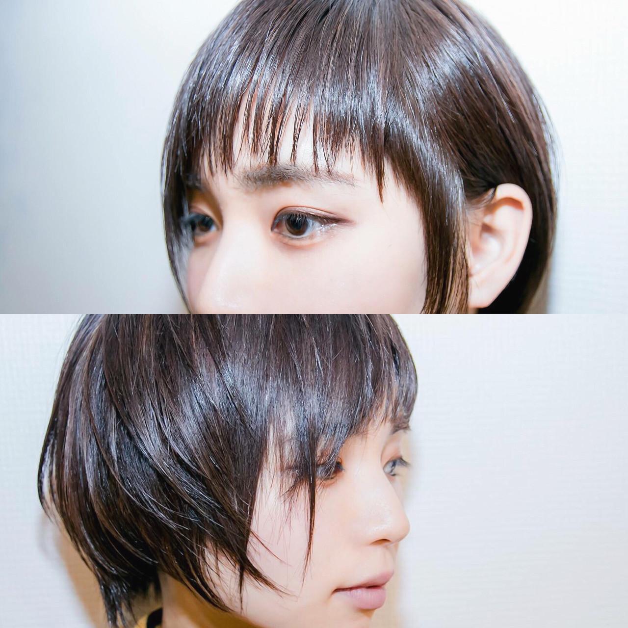 ストレートで自然体に!セクシー女性のヘアスタイル 清野 晃