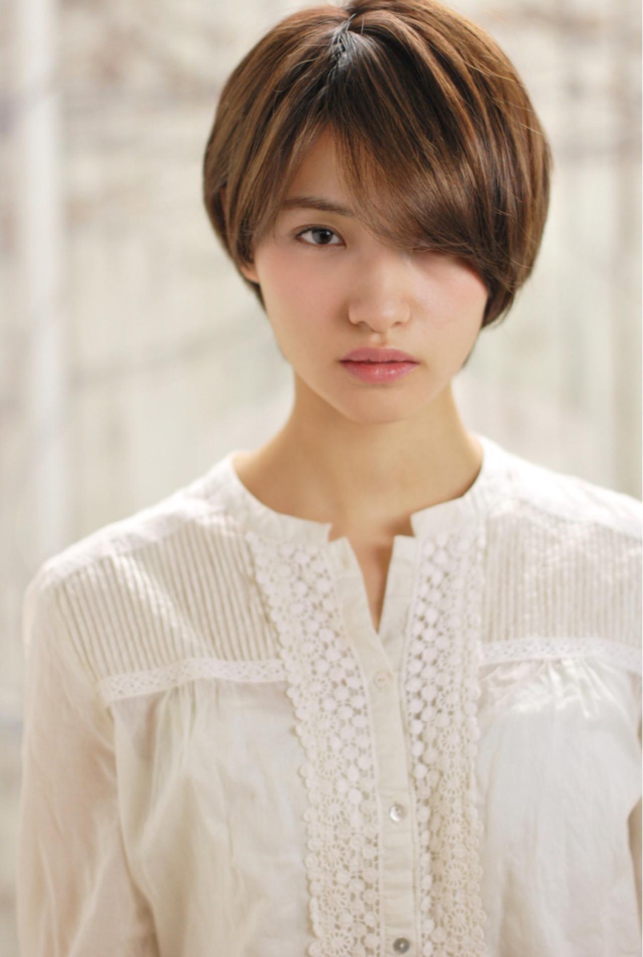 清楚な大人女性のためのストレートショートヘア☆ 千田 営司