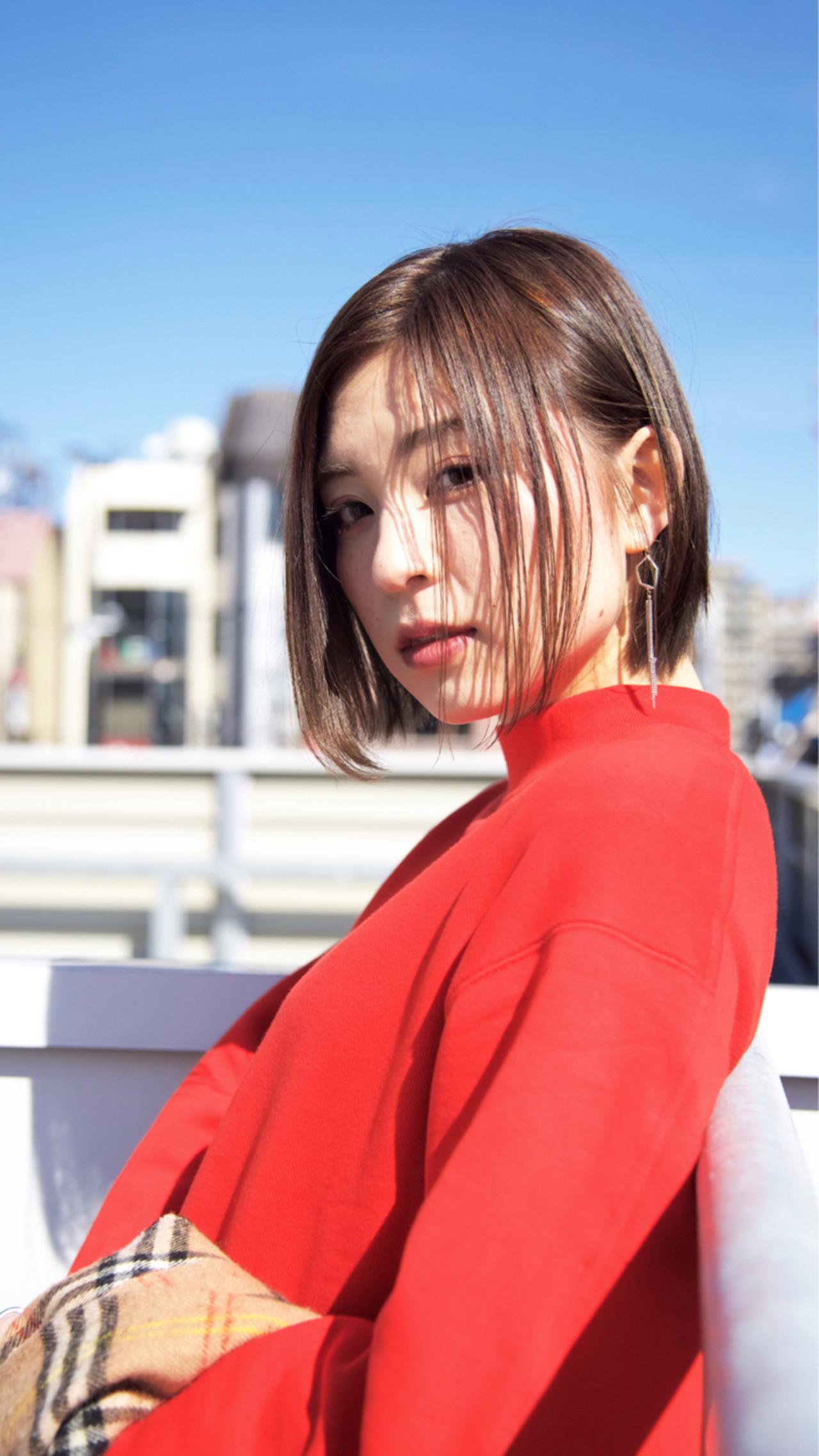 前髪なしで色っぽい目元を叶えて shohei nishimori