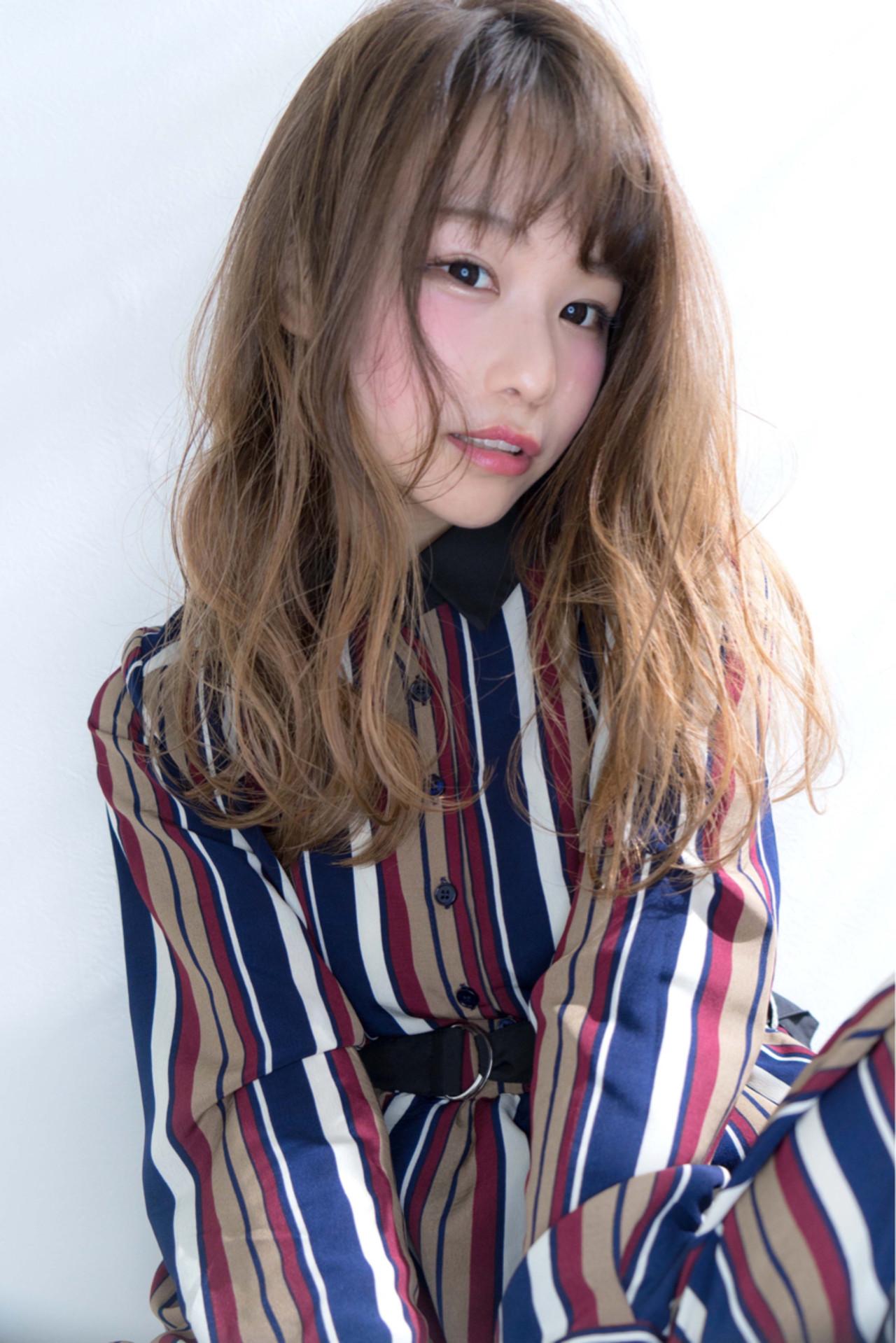 ほんのりピンク♡血色チークで旬顔 Ciel Hairdesign 代表 今田 亮