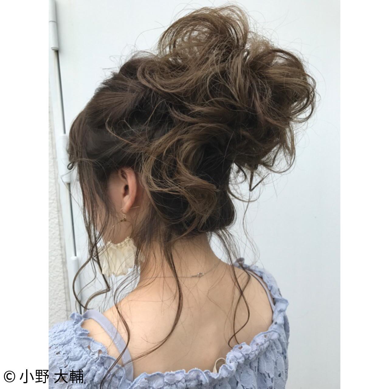涼しげ ヘアアレンジ ナチュラル 結婚式 ヘアスタイルや髪型の写真・画像