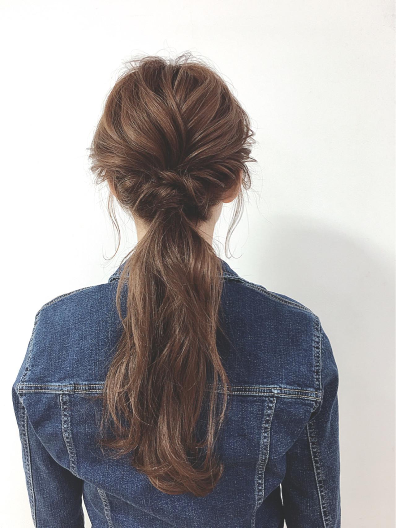 ショート 簡単ヘアアレンジ ヘアアレンジ ナチュラル ヘアスタイルや髪型の写真・画像