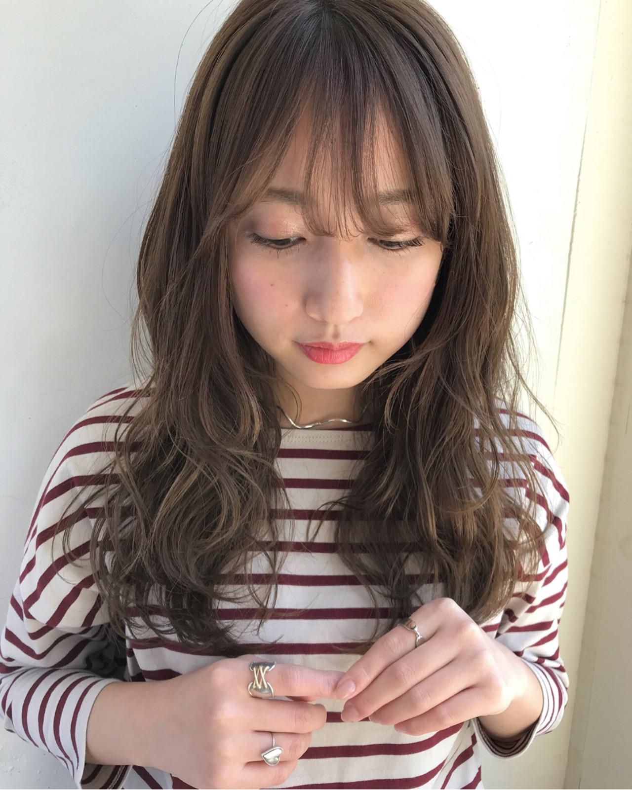 韓国発祥の前髪スタイル 伊藤愛子