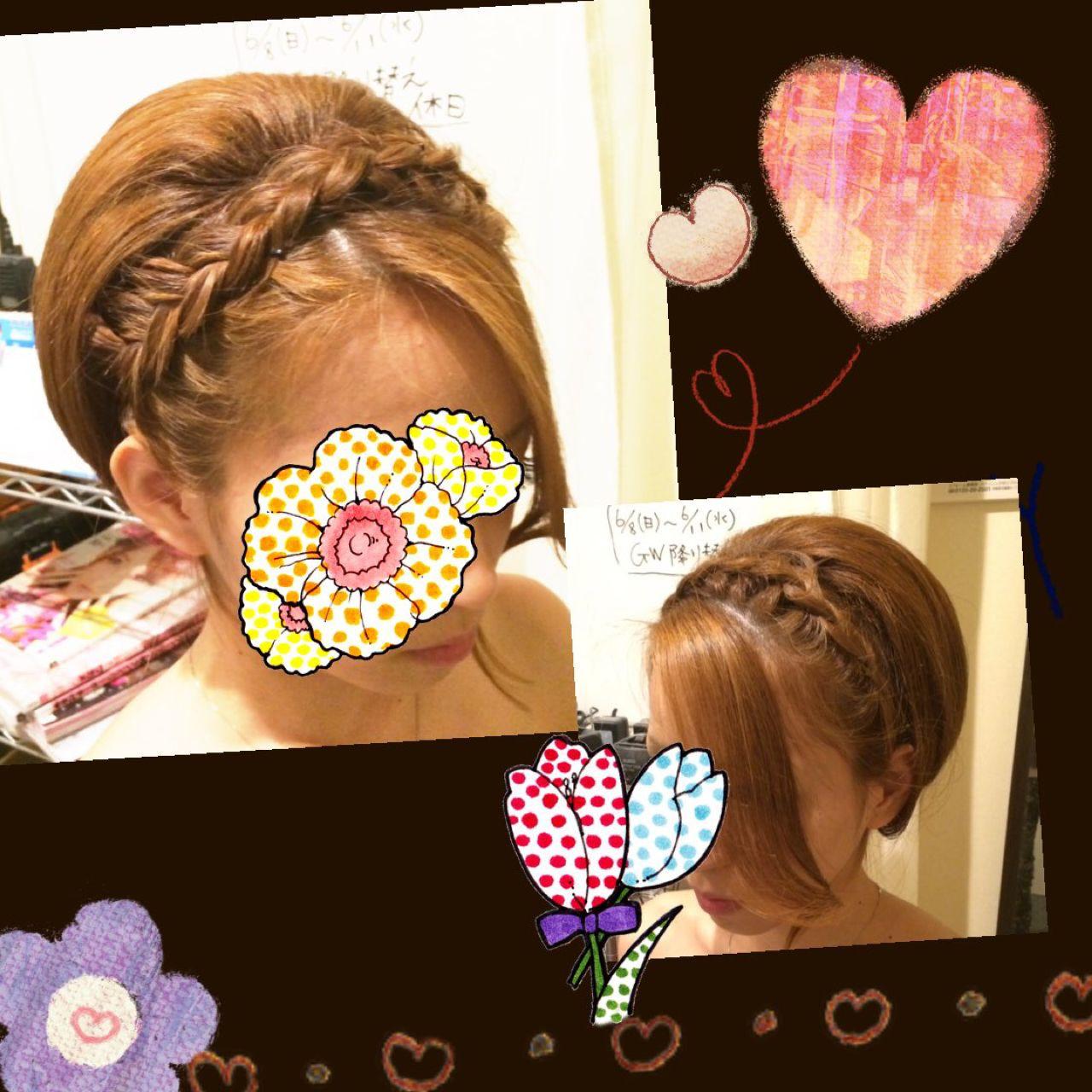 結婚式にピッタリ♡華のあるヘアアレンジ nao
