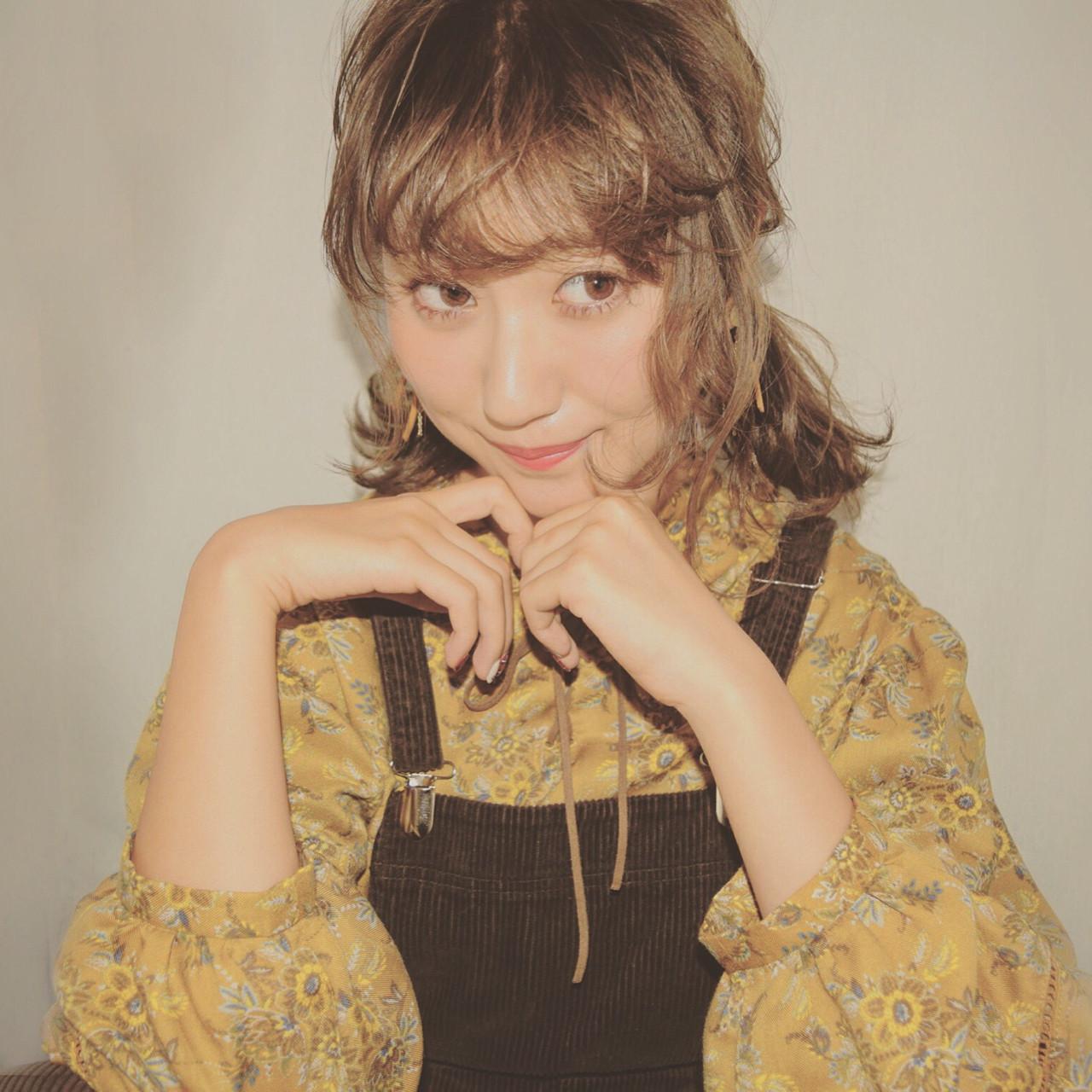 ショートだから似合う!可愛い三つ編みおさげ 徳田 誠也
