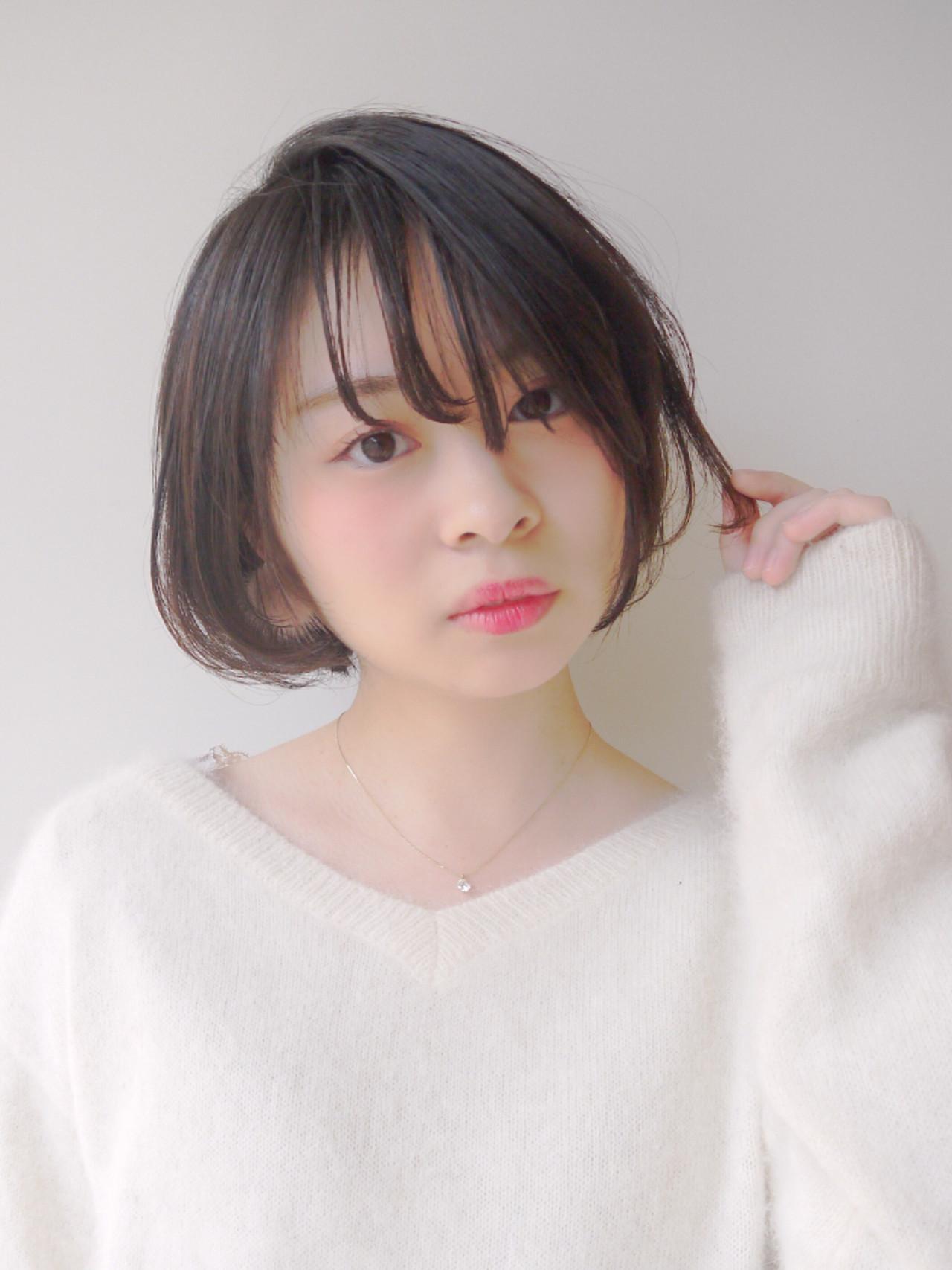 伸ばしかけ前髪は重たくなる!軽やかに遊ばせよう Hiroki Sakuma【morio原宿】
