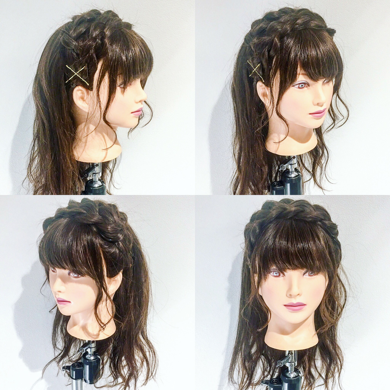 ルーズ デート カチューシャ ヘアアレンジ ヘアスタイルや髪型の写真・画像