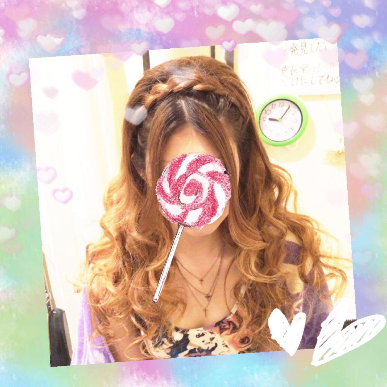 ヘアアレンジ 三つ編み ゆるふわ ハーフアップ ヘアスタイルや髪型の写真・画像
