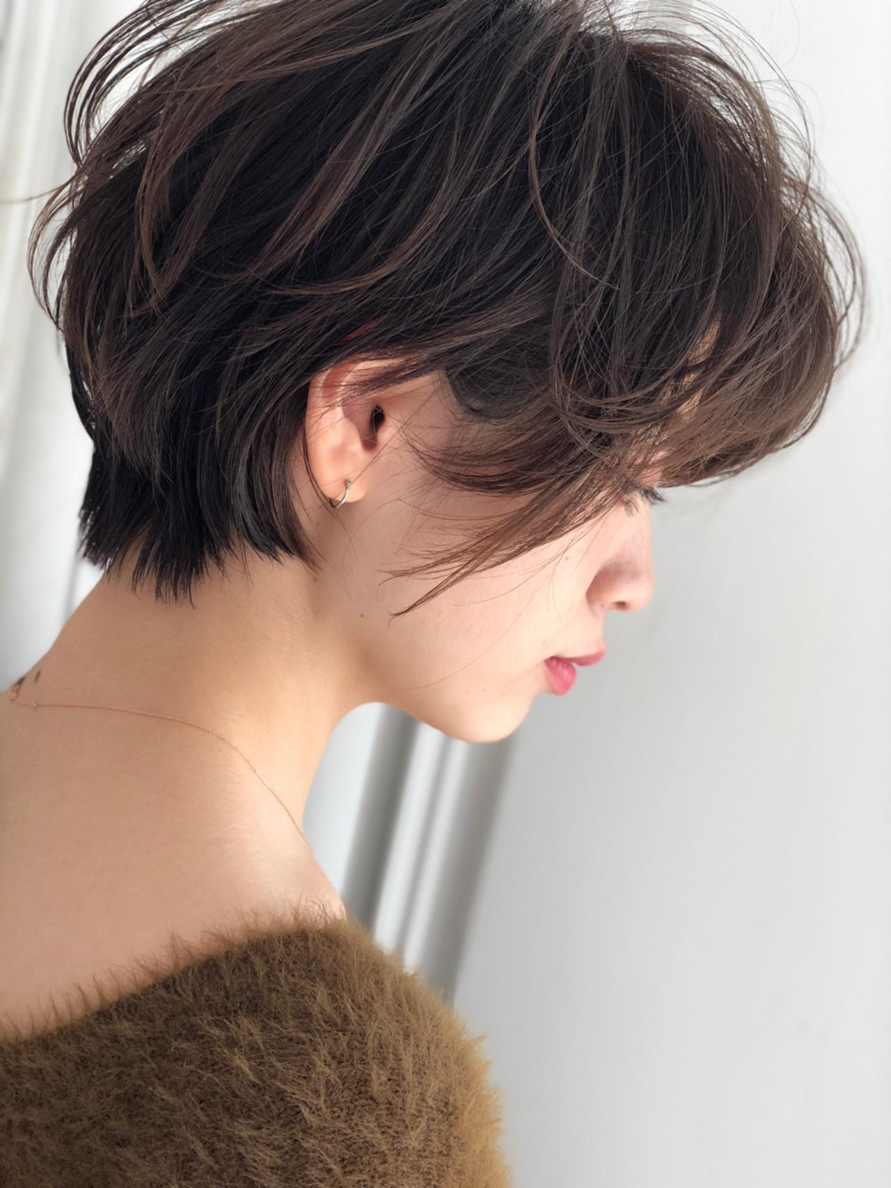 シルエットがカギ☆横向き美人のショートヘア 若田部 薫 Tierra/Tierra-j