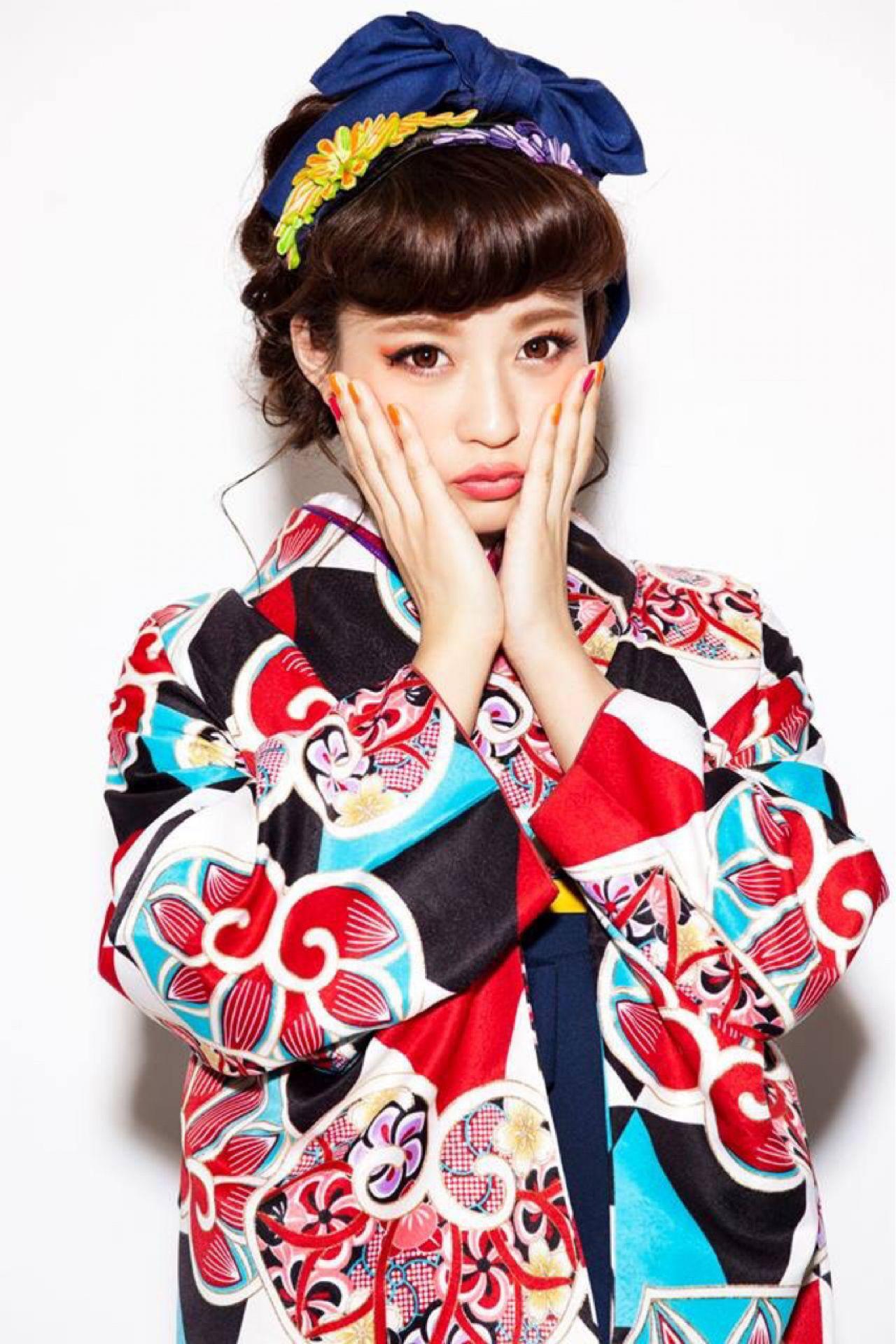 前髪ありアレンジでロマンチックに装って♡ アサダマユコ