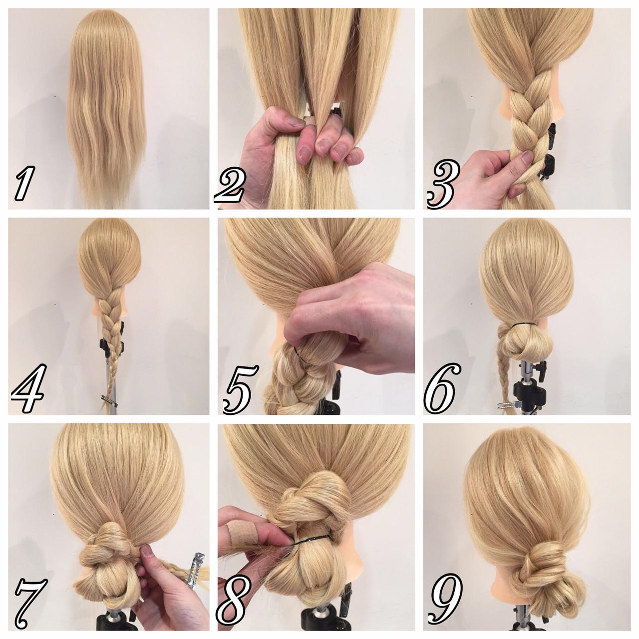 ヘアアレンジ ロング 波ウェーブ メッシーバン ヘアスタイルや髪型の写真・画像