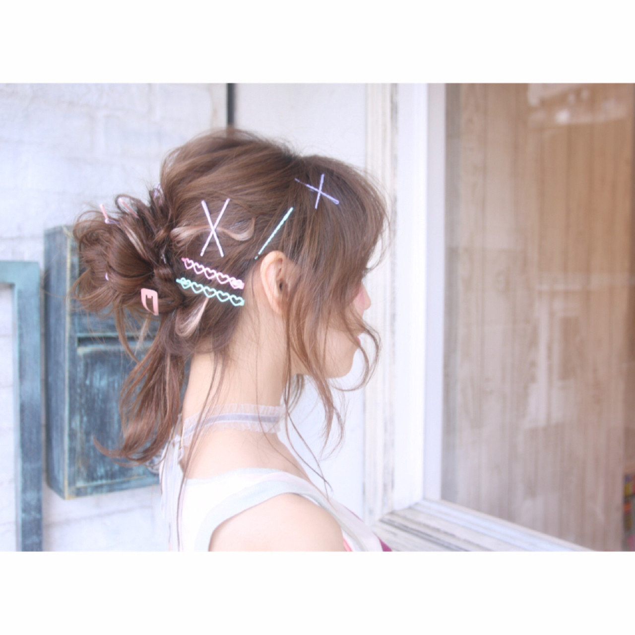 ロング デート リラックス ヘアアレンジ ヘアスタイルや髪型の写真・画像