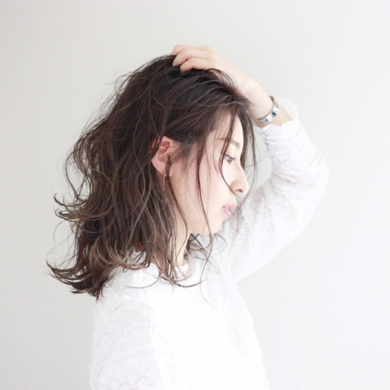 暗髪にあたたかみをプラスするセピアグレージュ 松田武法