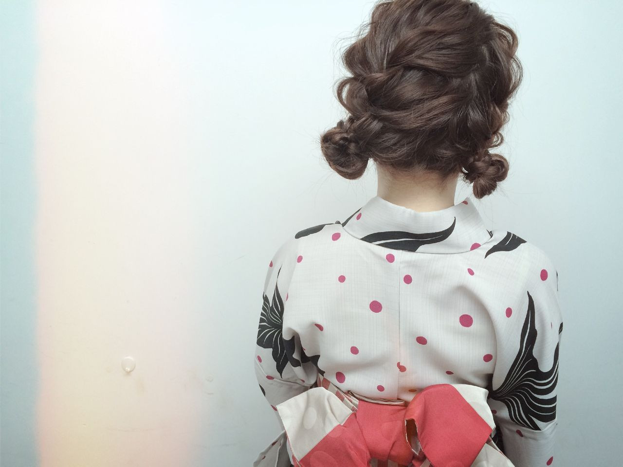 ツイン編み込み×浴衣で簡単ヘアアレンジ YUJI / LIICHI