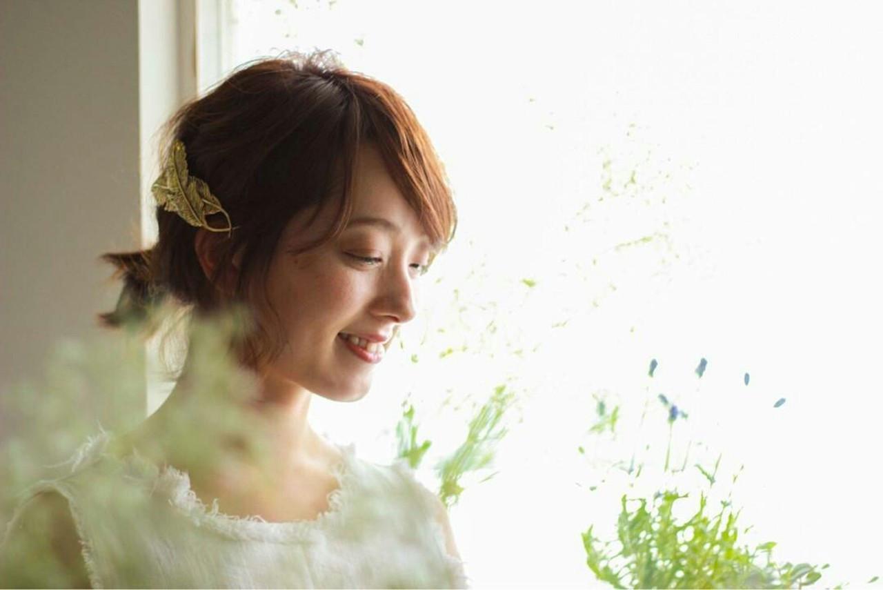 短めの髪型に!カチューシャやピンで可愛く♡ asuka