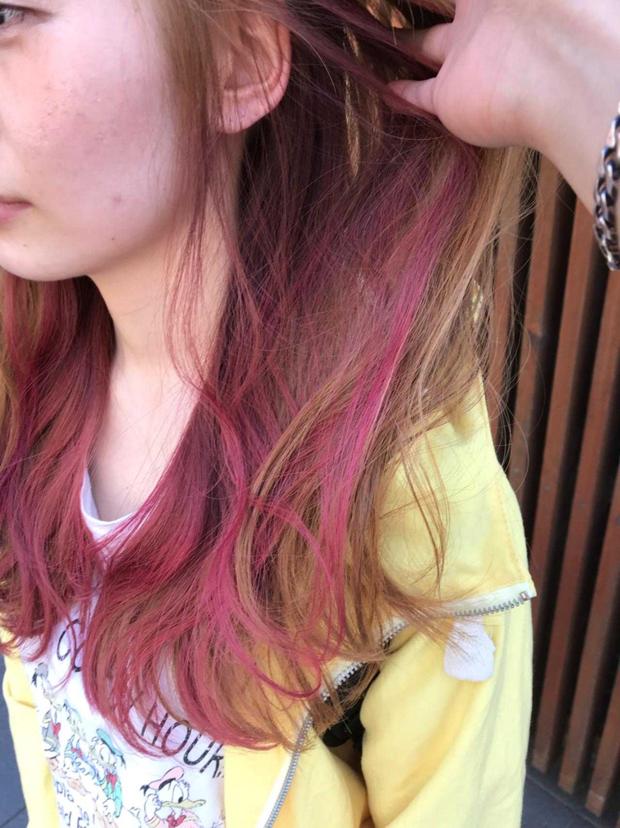 外国人風カラー 外国人風 フェミニン ロング ヘアスタイルや髪型の写真・画像