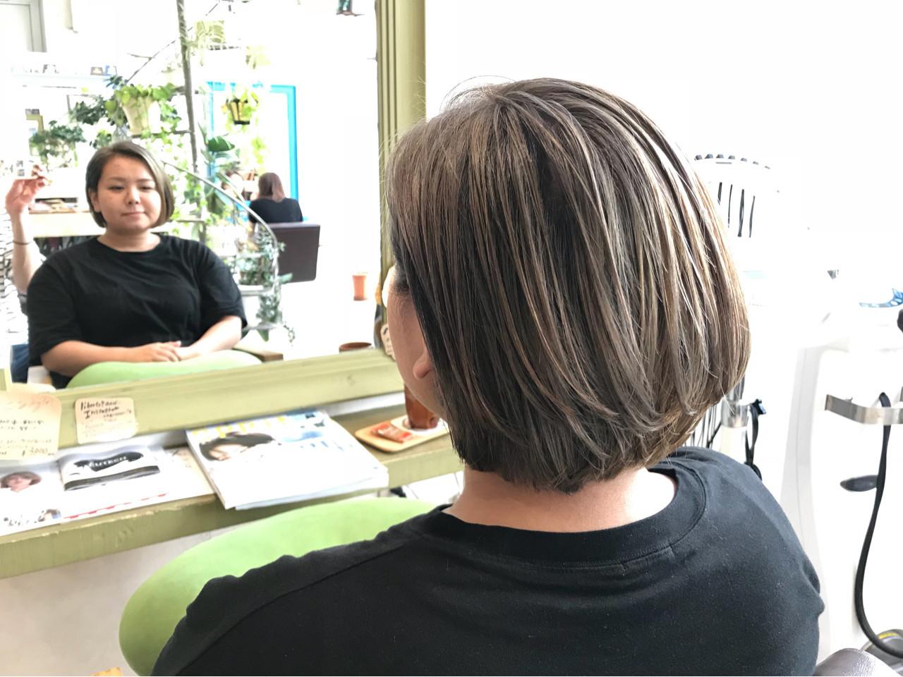 ナチュラル 外国人風カラー アッシュベージュ 外国人風 ヘアスタイルや髪型の写真・画像