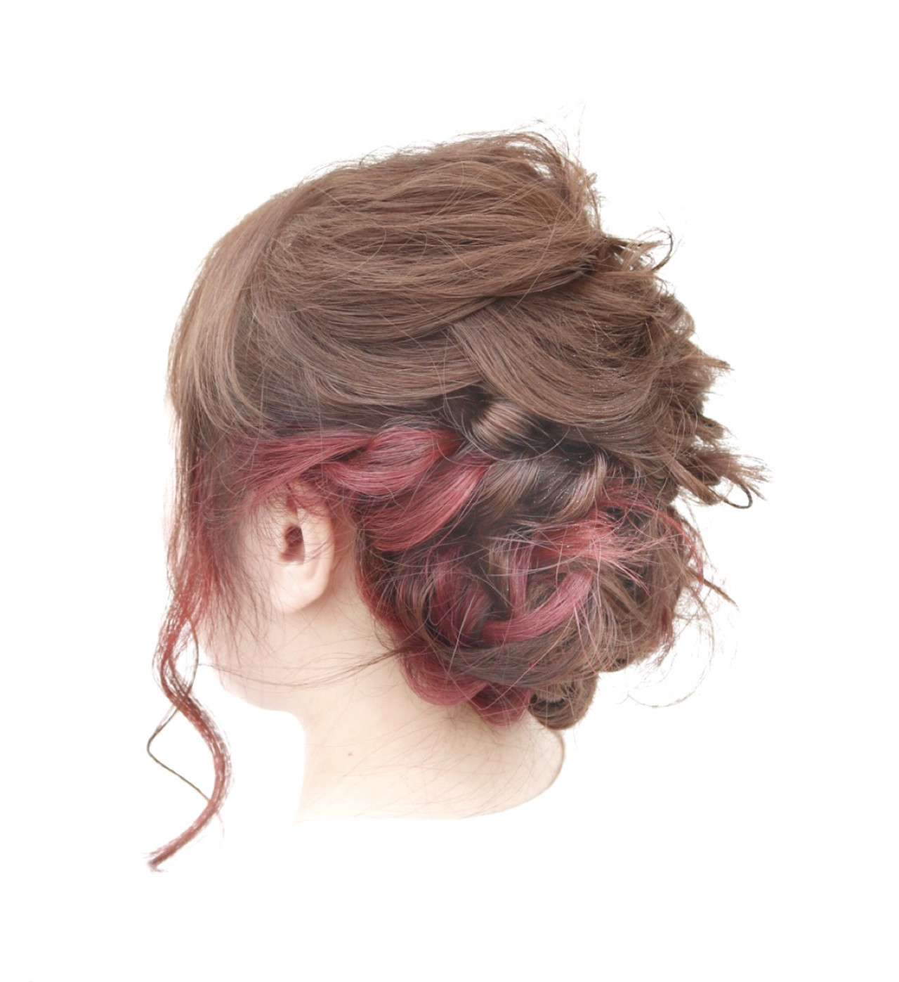 フィッシュボーン×まとめ髪で華やかに 蝦名貴之