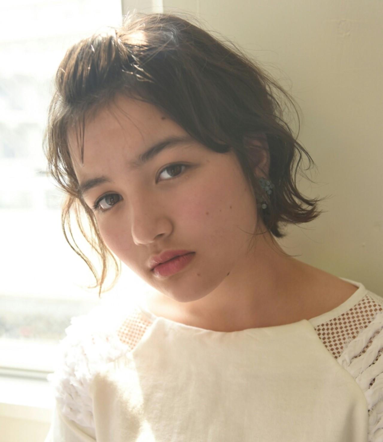 前髪をあげて女っぽく♡ 山口 華絵 Lépés Nakameguro