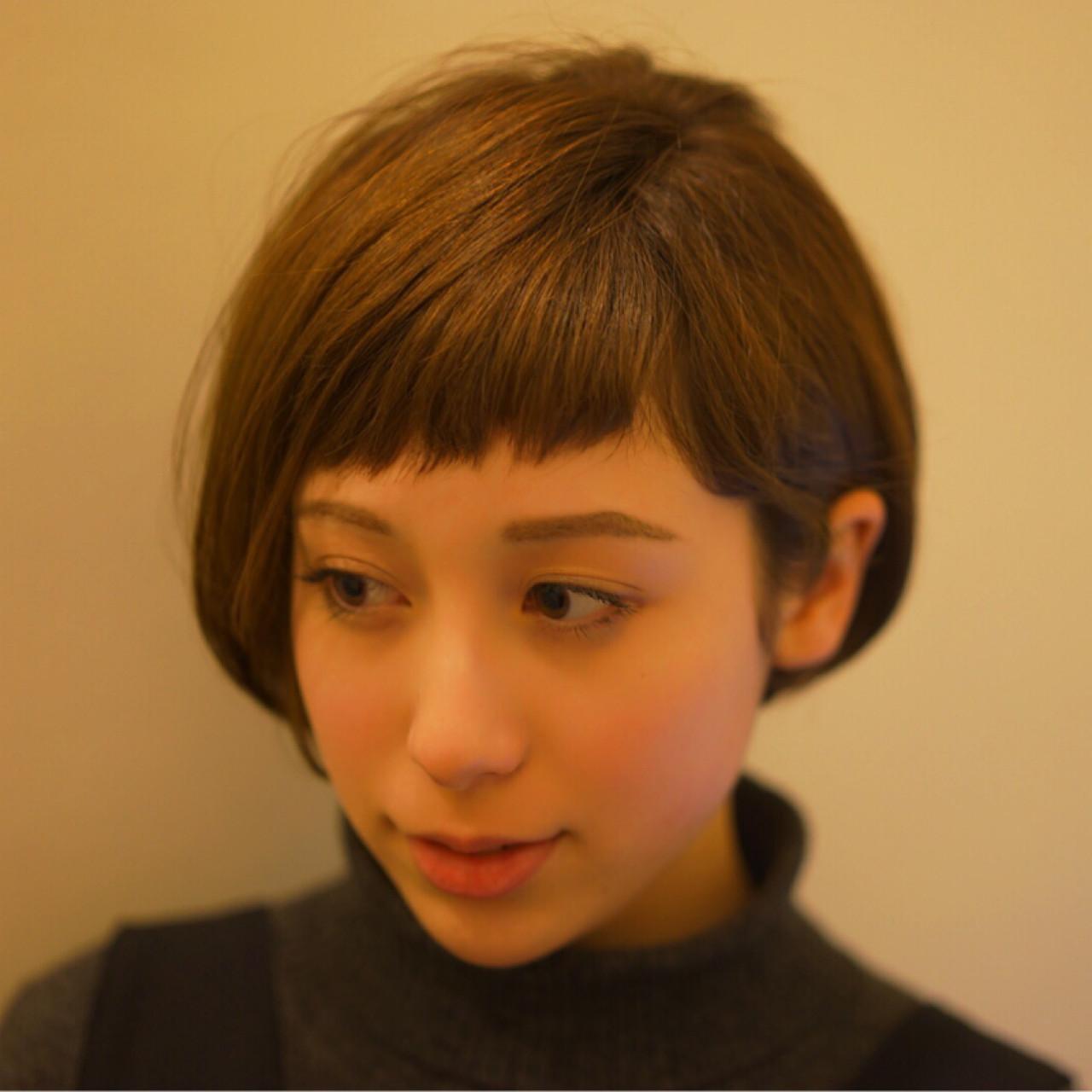 大人っぽ♡フェミニンなショートヘア Tadao Shimodaira
