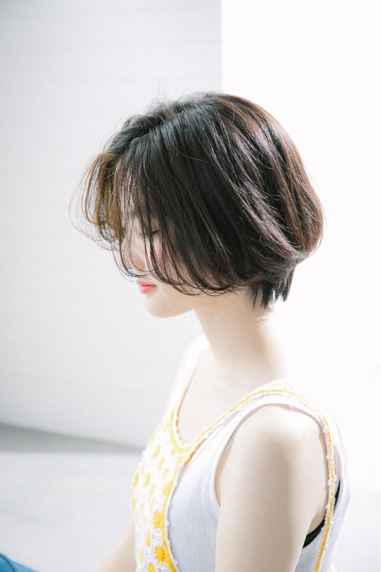 抜け感 オフィス ナチュラル 透明感 ヘアスタイルや髪型の写真・画像