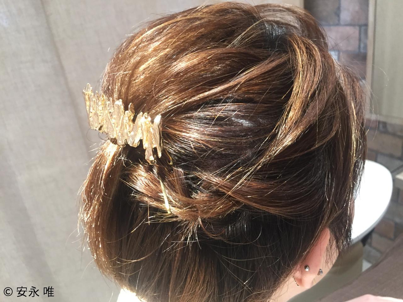 ナチュラル 夏 ヘアアレンジ 涼しげ ヘアスタイルや髪型の写真・画像