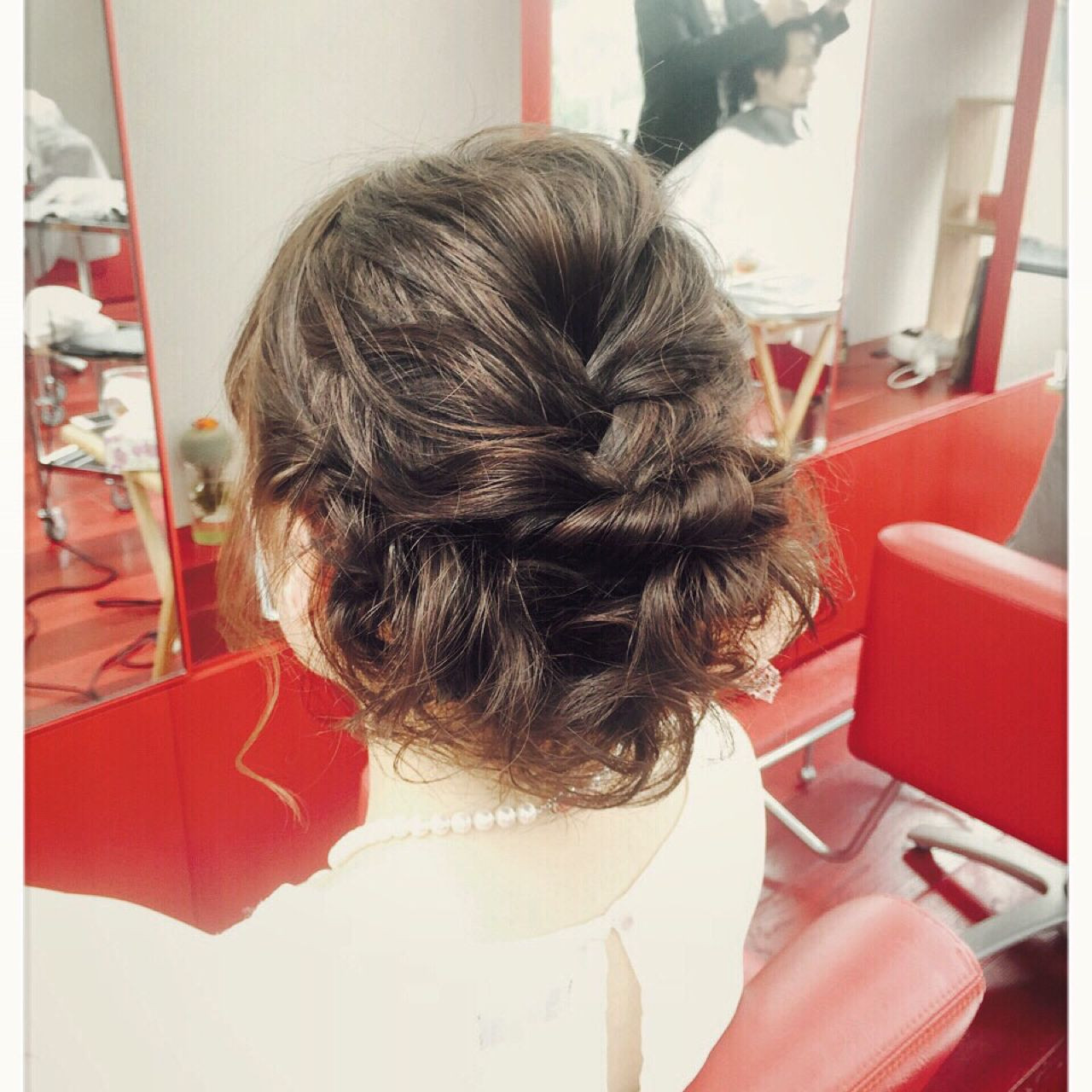 原宿系 ボブ ヘアアレンジ モテ髪 ヘアスタイルや髪型の写真・画像