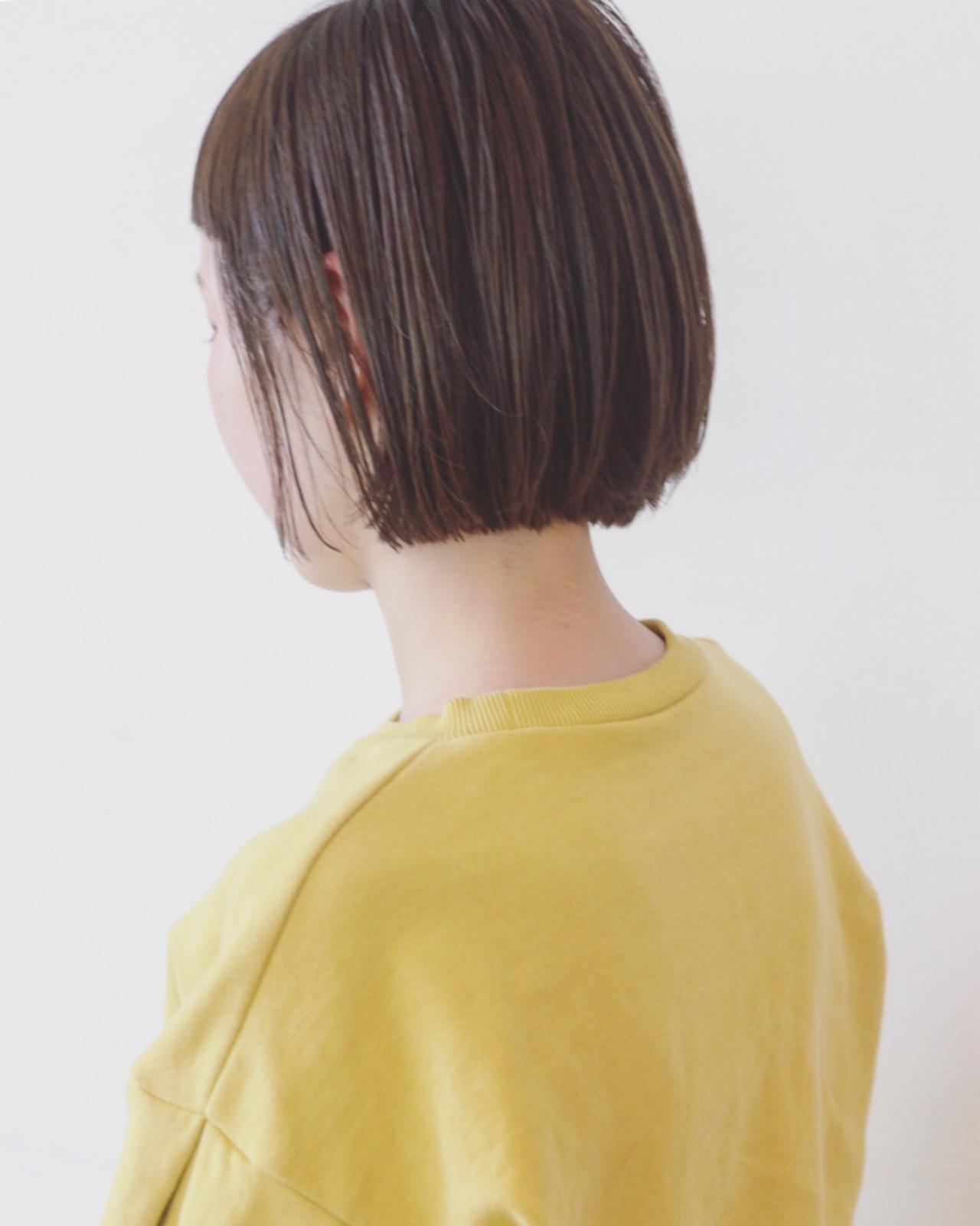 少女のような色気を出すならシンプルなヘアスタイルに 三好 佳奈美