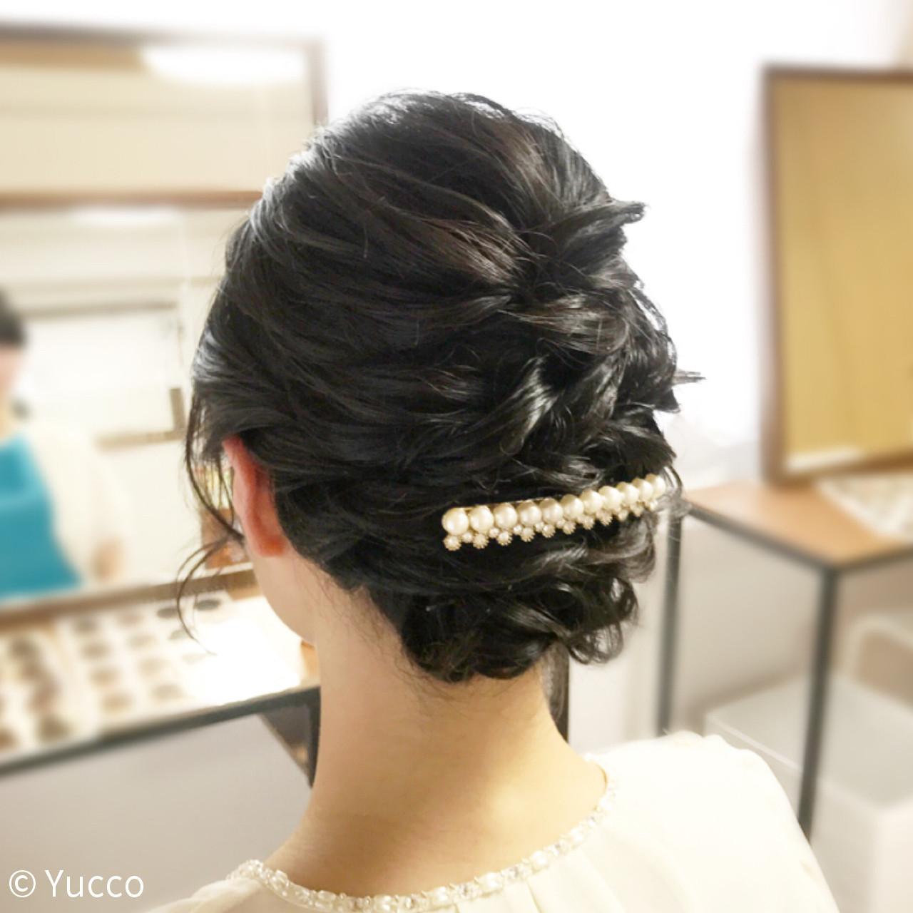 ボブ パーティ エレガント 上品 ヘアスタイルや髪型の写真・画像