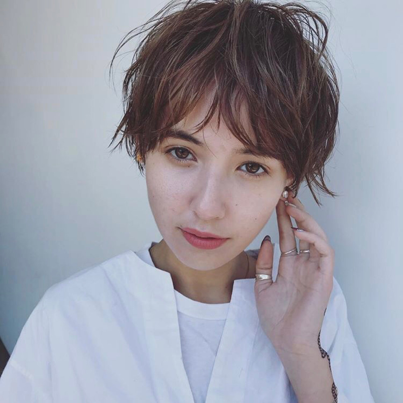 くせ毛感が魅力のベリーショート♡30代&40代にもおすすめスタイル!