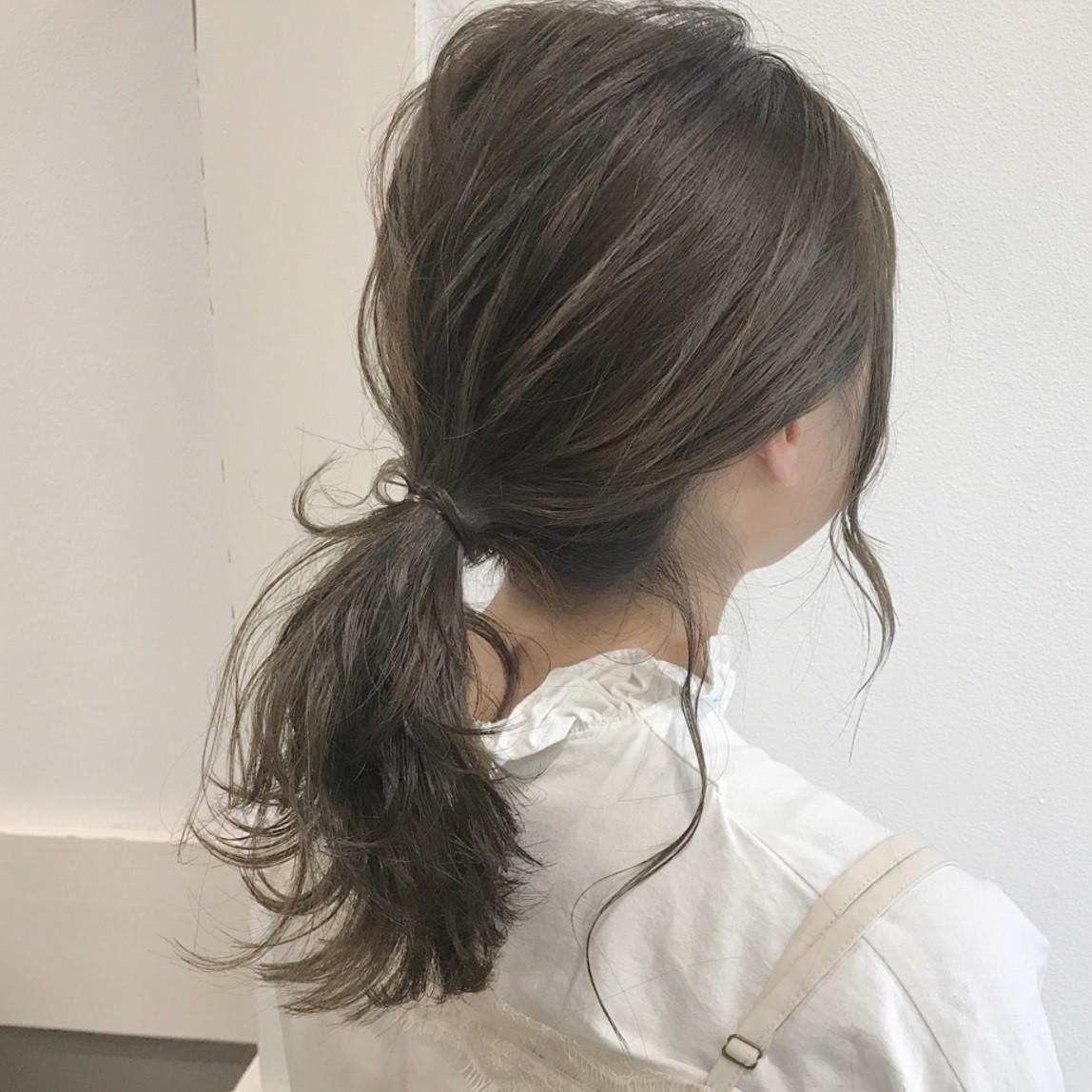 今大人気のまとめ髪◎普段使いしやすいレングス別特集!