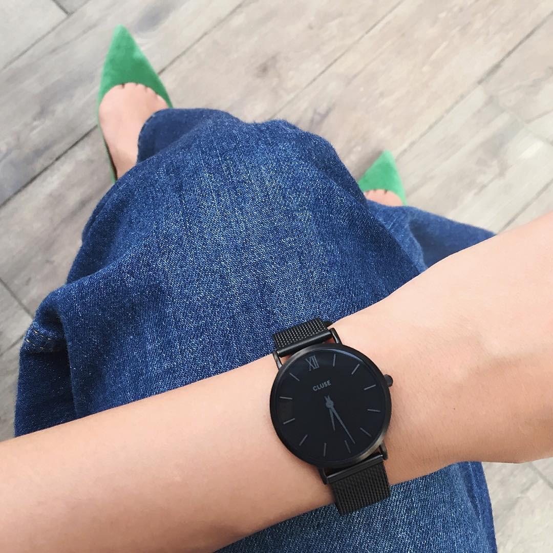失敗しないためには一度時計をはめてみて♪ nagina001