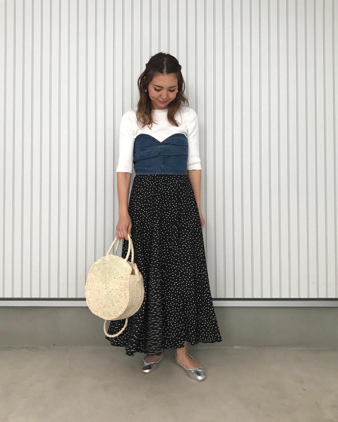 どんなファッションにも馴染む素材感 natsu420