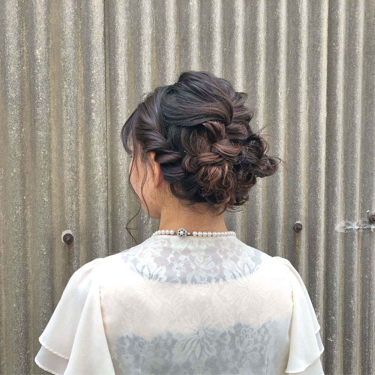 二次会 フェミニン 結婚式 成人式 ヘアスタイルや髪型の写真・画像