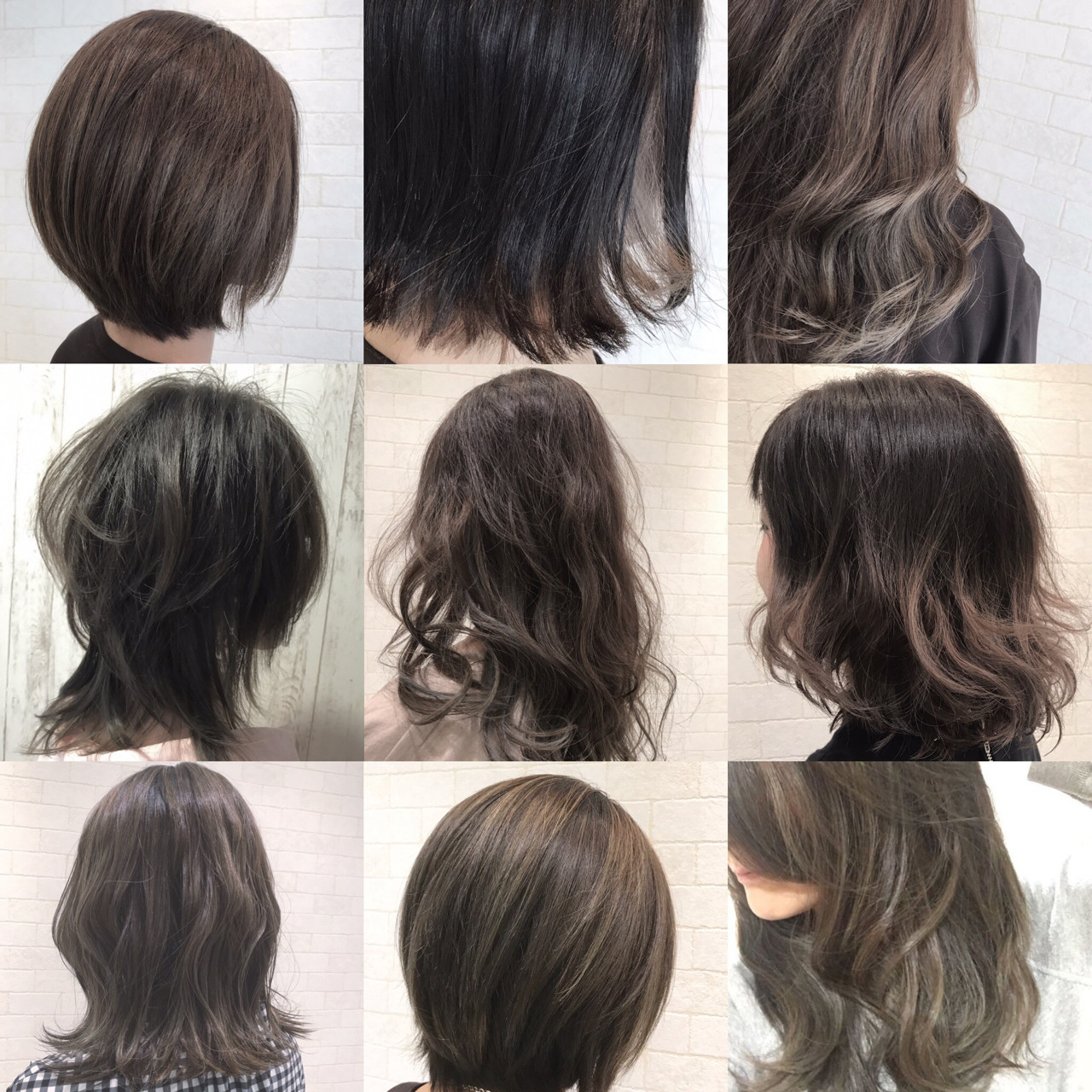 ブリーチ ストリート 外国人風カラー ミディアム ヘアスタイルや髪型の写真・画像
