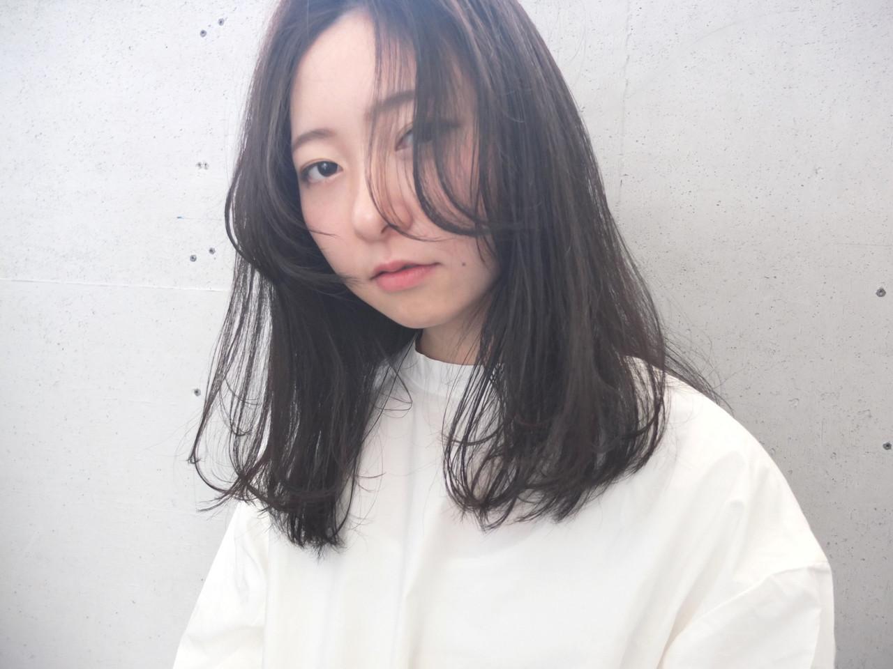 ふんわり顔周りの髪でエラをピンポイントカバー 金子 奈那美  FAIR LADY shimokitazawa