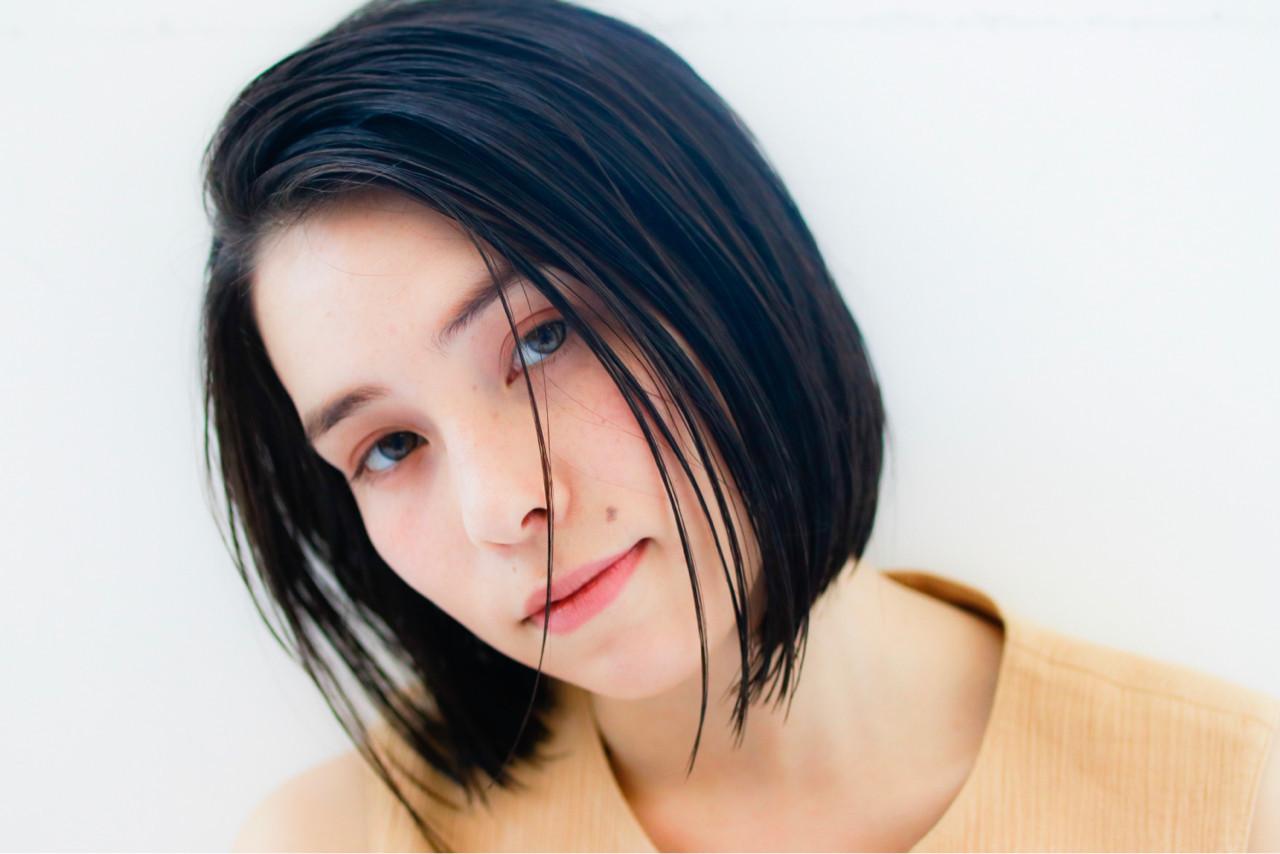 色っぽセミウェットなスタイリング 秋田将吾