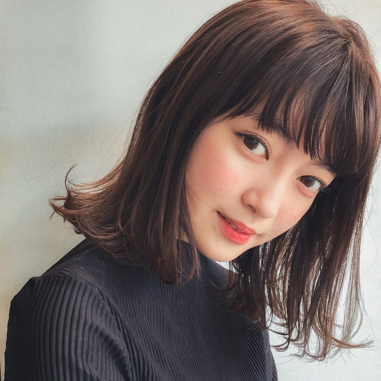 石原さとみさんも黒髪ストレートボブ♡ GARDEN harajyuku 細田