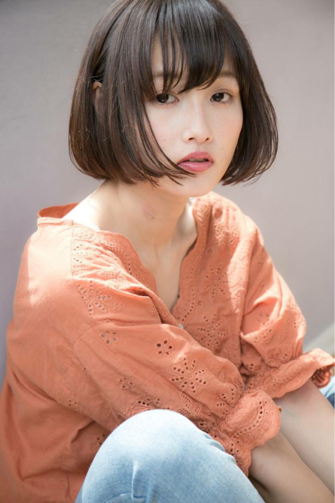 ふんわり前髪で愛されボブスタイルに♡ 西川真矢/drive for garden