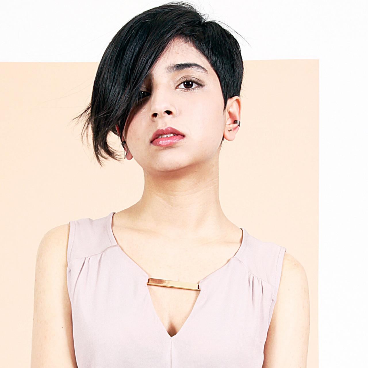 黒髪 モード ショート 小顔 ヘアスタイルや髪型の写真・画像