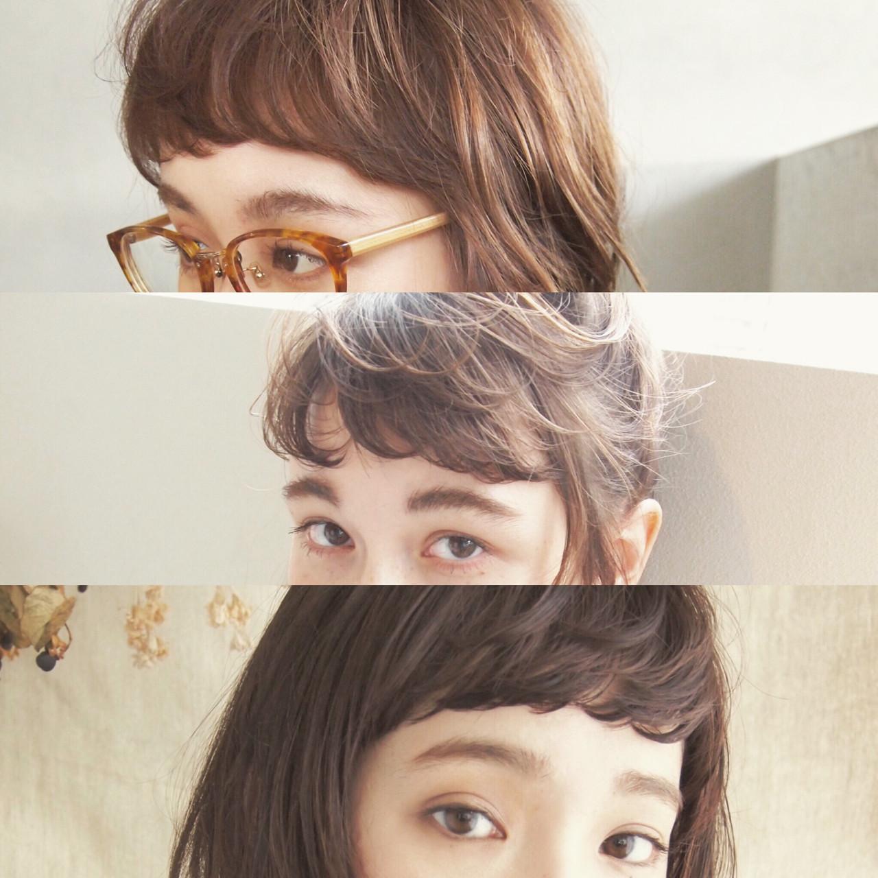教えて!ザクザク前髪のセット方法♡ UEKI/nanuk