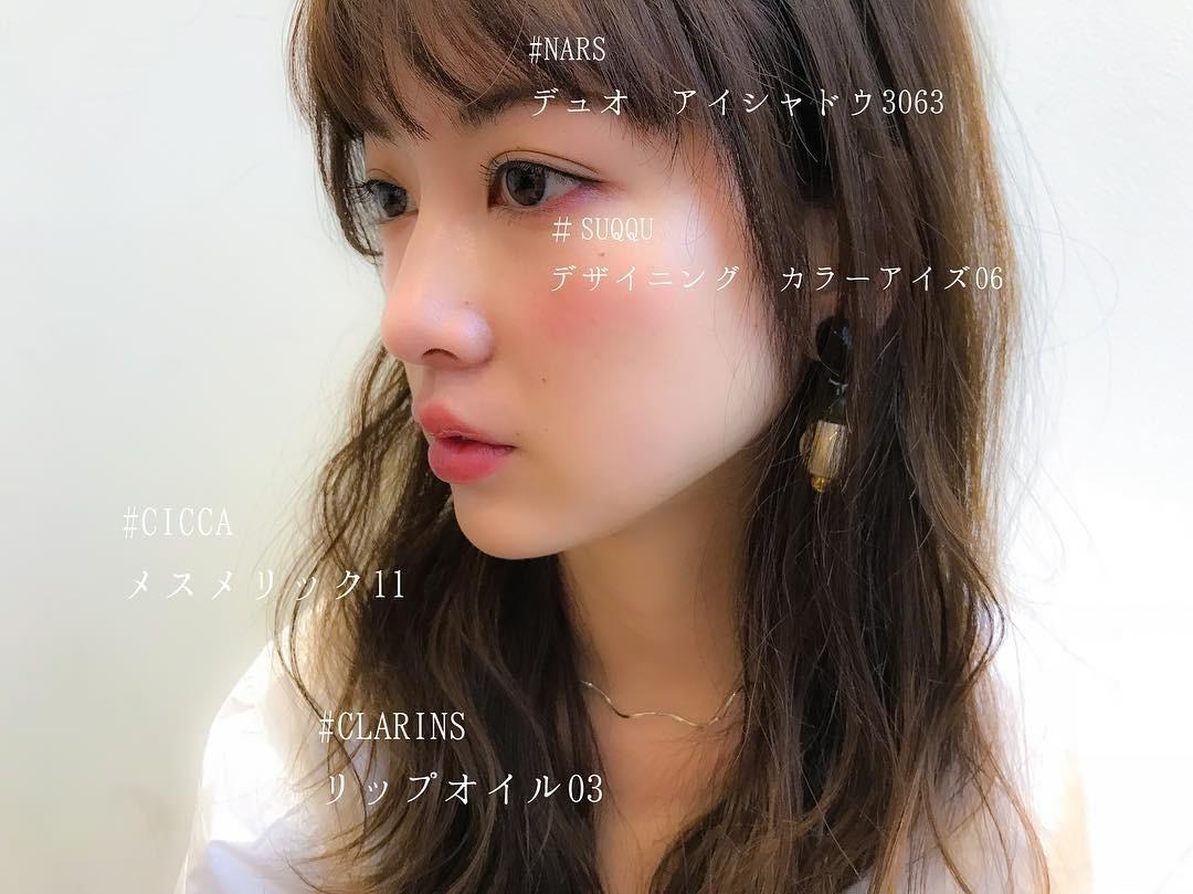 あざと可愛いメイクは透明感が大切! hikaru027