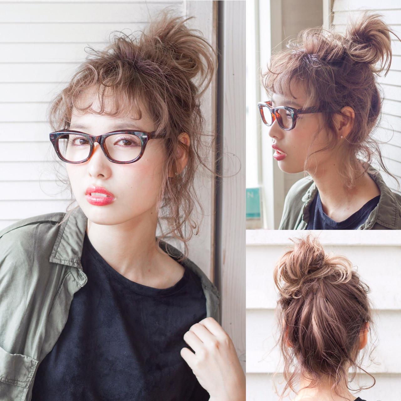 ヘアアレンジ ボブ 大人女子 くせ毛風 ヘアスタイルや髪型の写真・画像