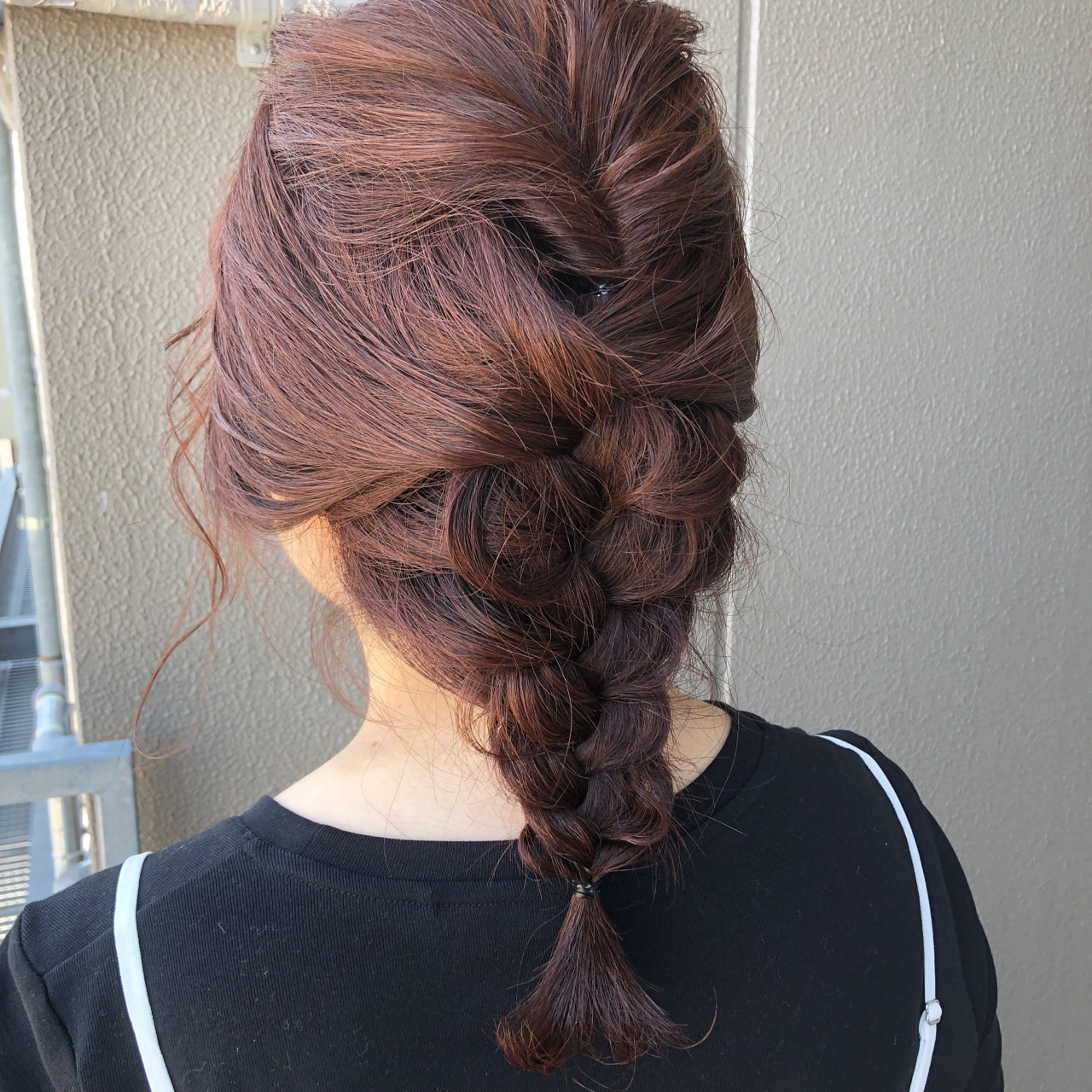 結婚式 ヘアアレンジ デート 前髪あり ヘアスタイルや髪型の写真・画像