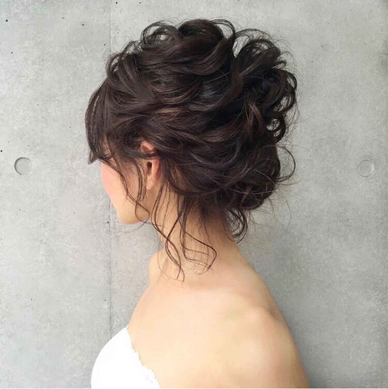 黒髪×ツヤ感で清楚☆結婚式に映えるアレンジ tomoya tamada